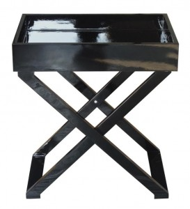 HP Butlers Black table with tray via bbhomeonline.pl