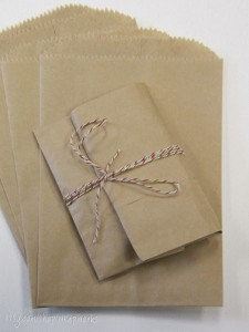 Little brown paper bags by wrapworks