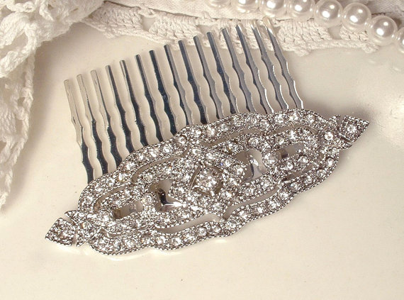 Art deco hair comb by AmoreTreasure