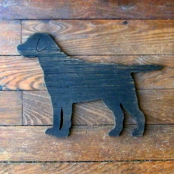 Lab dog sign by SlippinSouthern