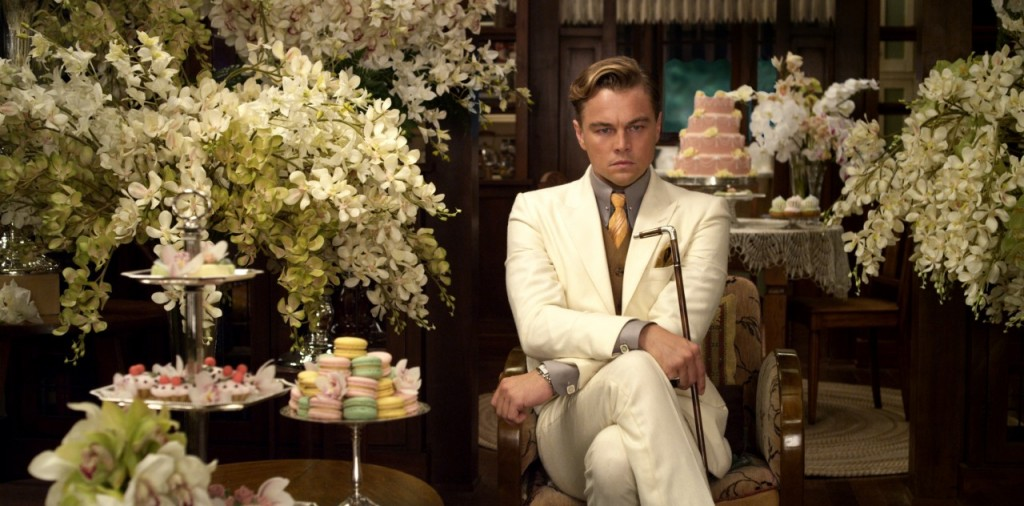 Leonardo DiCaprio as Jay Gatsby photo via thegreatgatsby.warnerbros.com