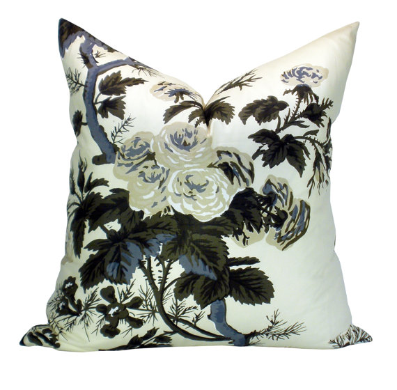 Schumacher Pyne pillow by sparkmodern