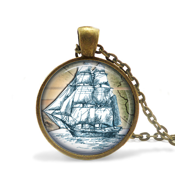 Ship necklace by EmpireJune