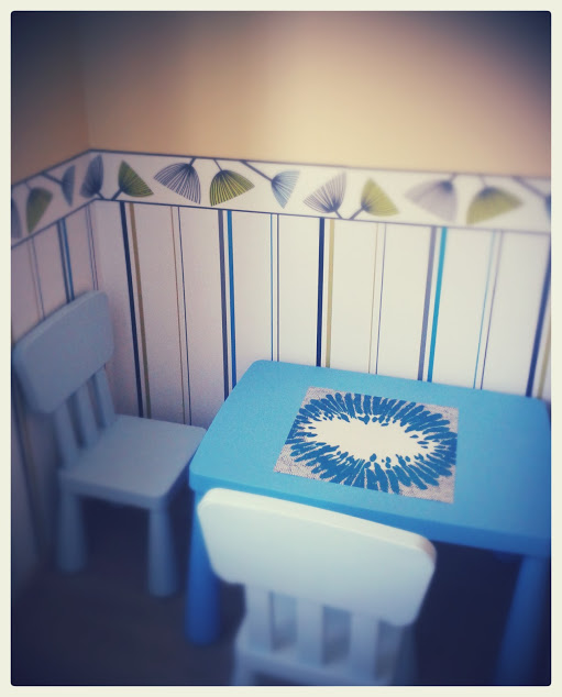 Table and chairs by IKEA