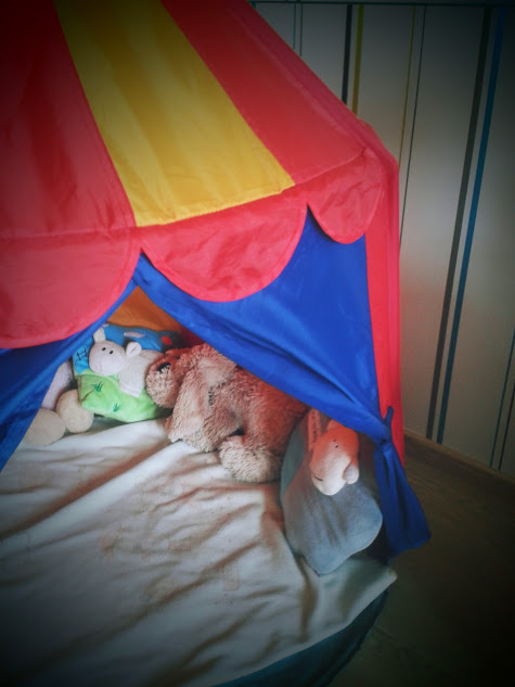 circus tent by IKEA