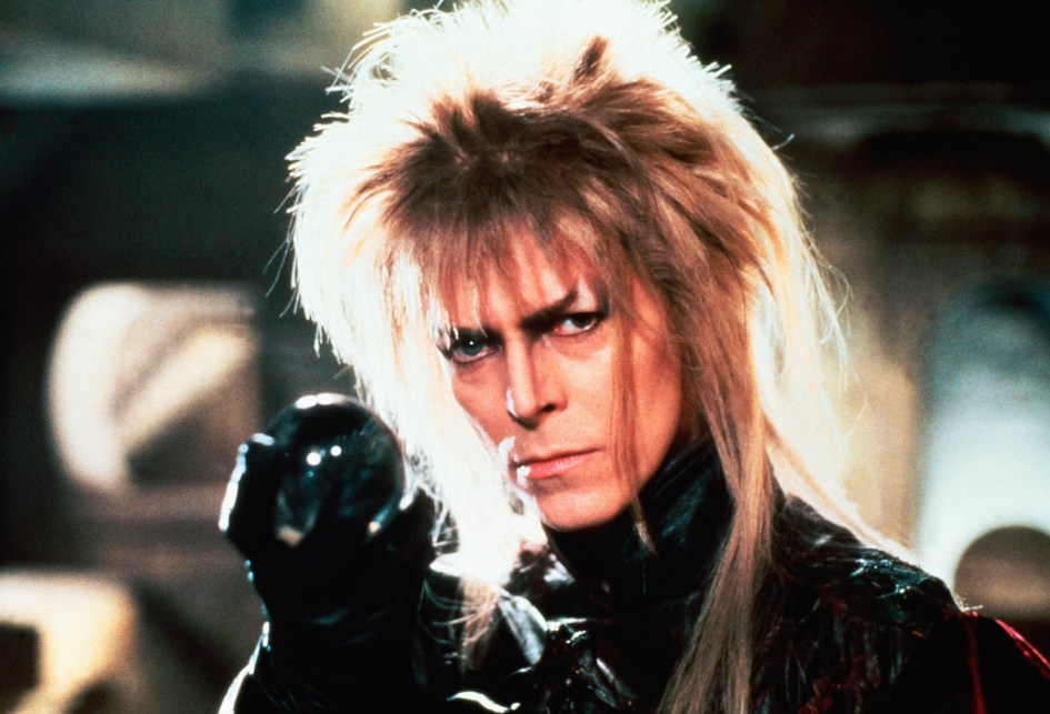 David Bowie in Labrynth (1986)