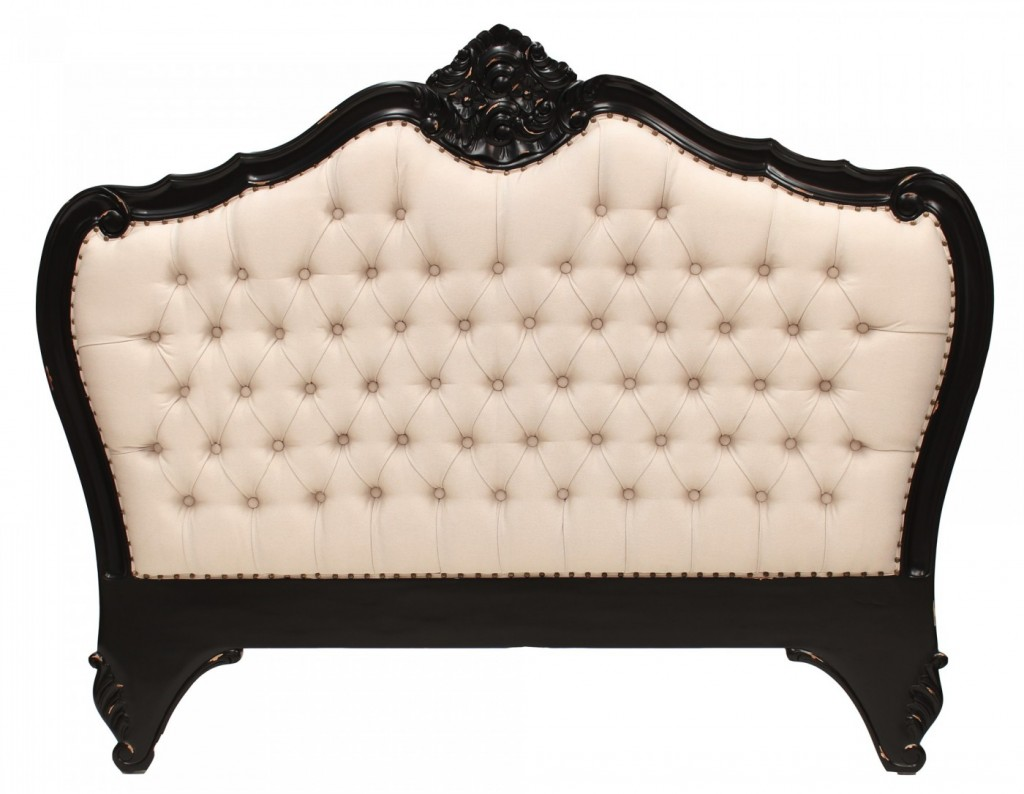 Louis upholstered bedhead via interiorsonline.com.au