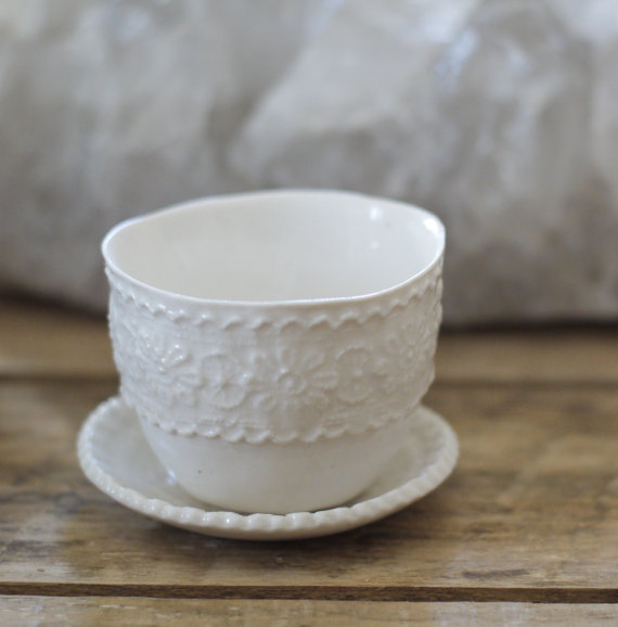 Espresso cup by MrsPetersonPottery