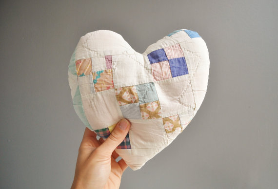 Patchwork heart by thewhitepepper
