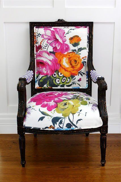 Accent chair via Pinterest