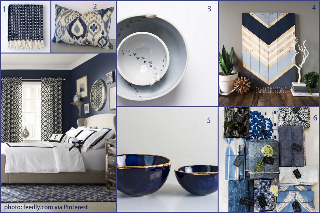 top colour trends navy blue and white grey