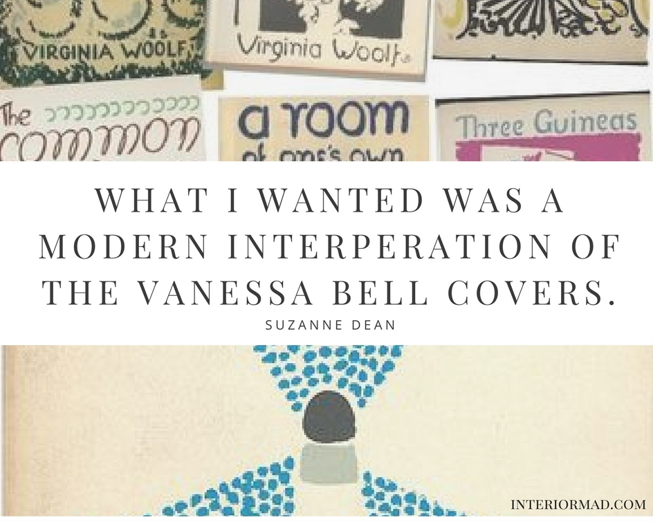 Suzanne Dean on Virginia Woolf's covers