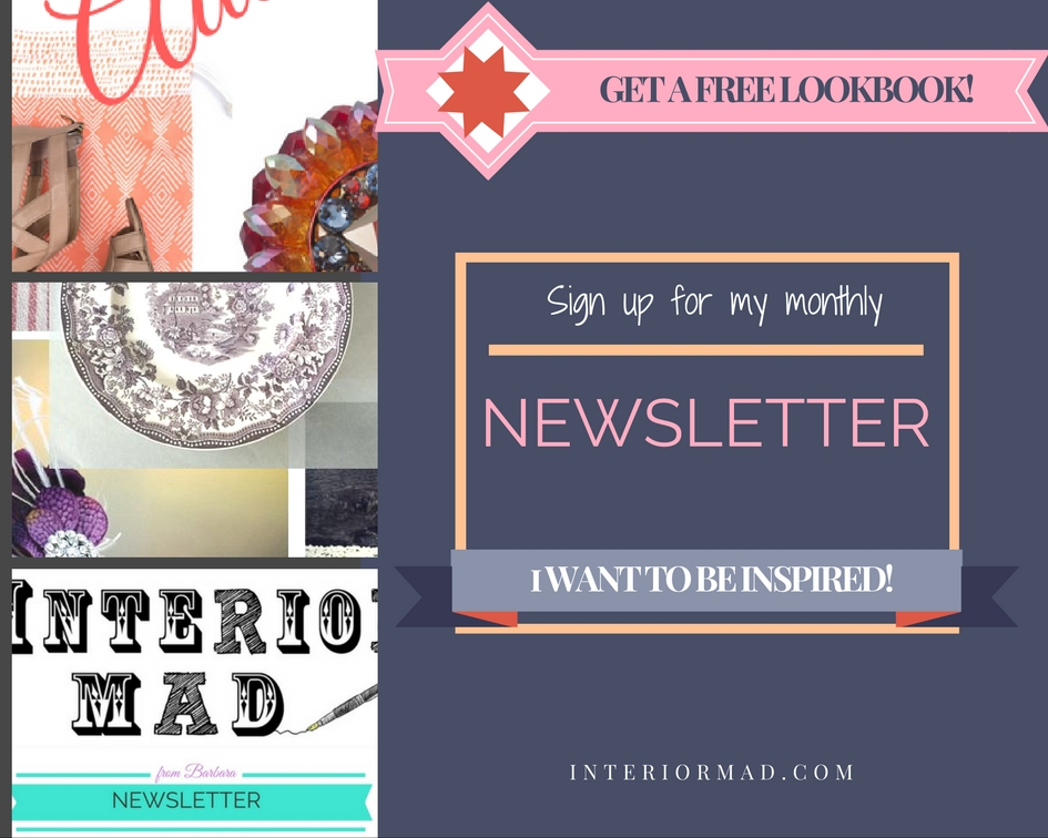 Interiormad's newsletter