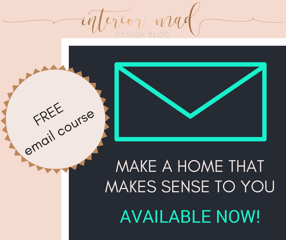 5 day email course Make a Home that Makes Sense to You